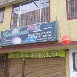 Miscelánea y Papelería Universal en Bogotá