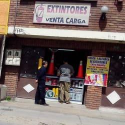 Extintores Venta Carga en Bogotá