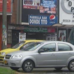 Parrilla Bar Donde Tito en Bogotá