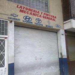 Latoneria y Pintura Mecanica General en Bogotá