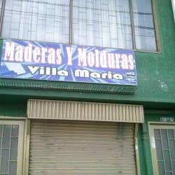 Maderas y Molduras Villa María en Bogotá