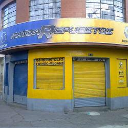 Mazda Respuestos en Bogotá