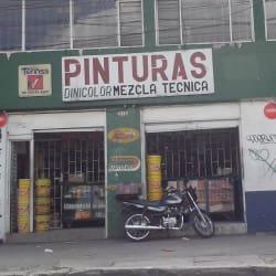 Pinturas Dinicolor Mezcla Técnica en Bogotá