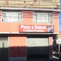 Pizza y Salsas en Bogotá