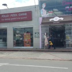 Pollo Pizza Carne en Bogotá