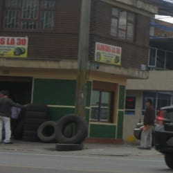 Llantas La 30 en Bogotá