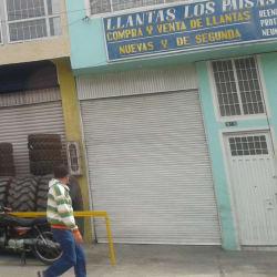 Llantas Los Paisas en Bogotá