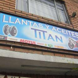 Llantas y Aceites Titan en Bogotá