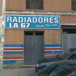 Radiadores La 67 Donde Don Tuta en Bogotá