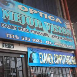 Óptica Mejor Visión en Bogotá