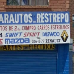 Yimarautos del Restrepo en Bogotá
