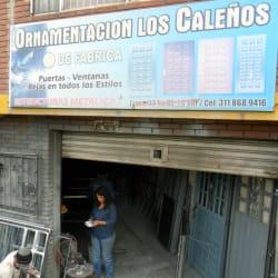 Ornamentación Los Caleños en Bogotá
