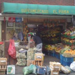 Supermercado El Paisa Carrera 52 Con 21 en Bogotá