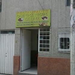Restaurante Calentaos y Sopas De La 66 en Bogotá