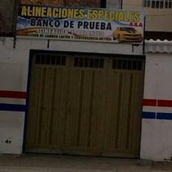 Alineaciones Especiales A&A en Bogotá