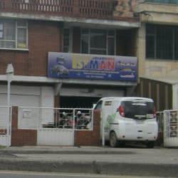 Istman en Bogotá