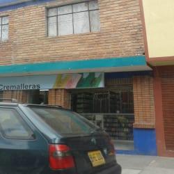 Cremalleras Calle 3 en Bogotá