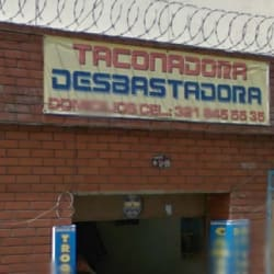 Taconadora Desbastadora en Bogotá