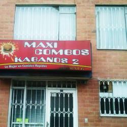 Maxi Combos Kabanos 2 en Bogotá
