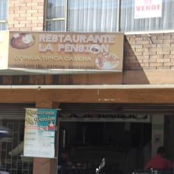 Restaurante La Pensión en Bogotá