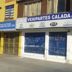 Vehipartes Calada S.A.S en Bogotá
