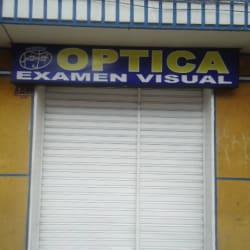 Óptica Examen Visual en Bogotá