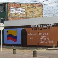Salón De Onces Popurri's Express  en Bogotá
