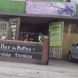 Rasarci Race Team en Bogotá