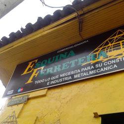Esquina Ferretera E.U. en Bogotá