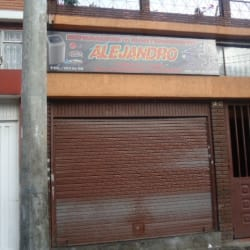 Alejandro en Bogotá