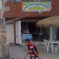 Cafetería y Restaurante Donde Siempre en Bogotá