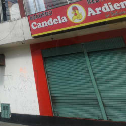 Asadero Restaurante Candela Ardiente en Bogotá