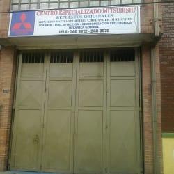 Centro Especializado Mitsubishi en Bogotá