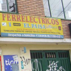 Ferreléctricos El Paisa La 153 en Bogotá
