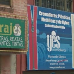 Cremalleras Yes en Bogotá
