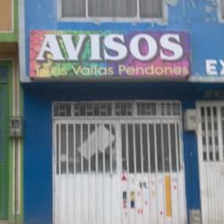 Avisos Carrera 1  en Bogotá
