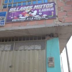 Billares Mixtos Libra en Bogotá