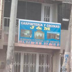Carpinteria y Cocinas J & M en Bogotá