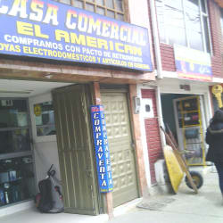 Casa Comercial El American  en Bogotá