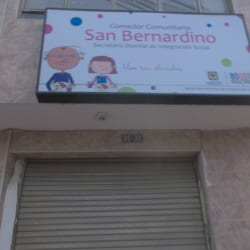 Comedor Comunitario San Bernardino en Bogotá