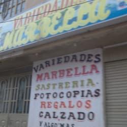 Variedades Marbella en Bogotá