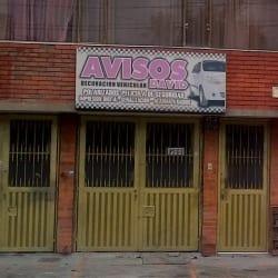 Avisos Decoración Vehicular David en Bogotá