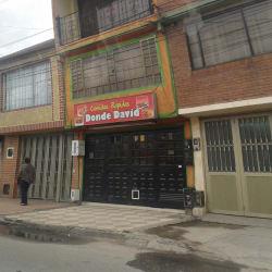 Comidas Rápidas Donde David en Bogotá