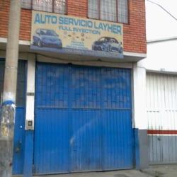 Autoservicio Layher en Bogotá