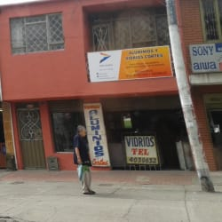 Aluminios y Vidrios Cortes en Bogotá