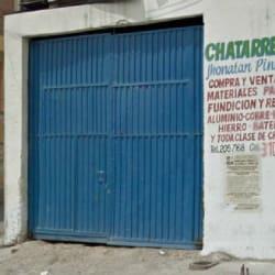 Chatarrería Jhonatan Pineda en Bogotá