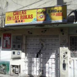 Chelas en las Rokas Bar en Bogotá