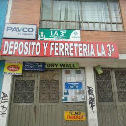 Depósito y Ferretería La 3A en Bogotá