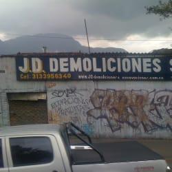 J.D Demoliciones S.A.S en Bogotá