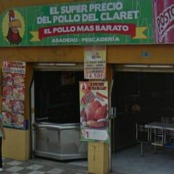 El Super Precio del Pollo del Claret en Bogotá